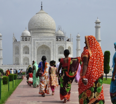 Photo Escapade au Taj Mahal avec chauffeur privé